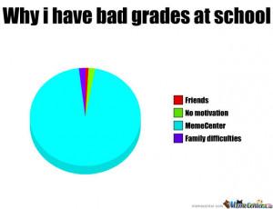 Why I Have Bad Grades At School
