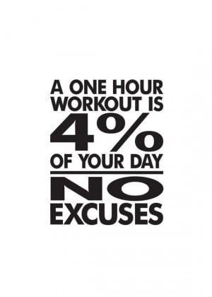 No Excuses, You Have Enough Time