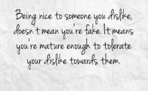 You Dislike Doesn Mean Fake