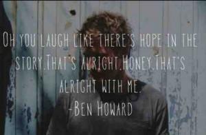 Bones - Ben Howard