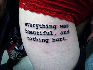 Hurt Tattoo