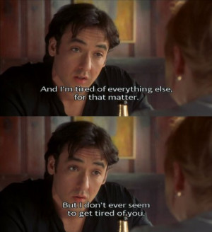 charming life pattern: high fidelity - quote - movie - nick hornby
