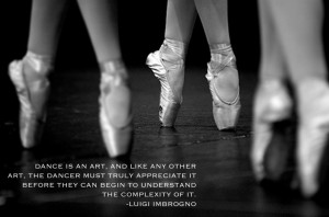 Dance Quotes By Dancers