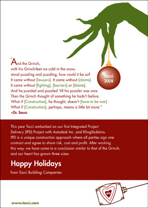 Grinch Quotes I just got this email greeting