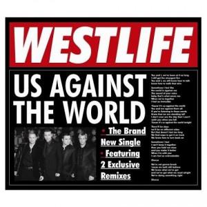 Westlife, Us Against The World, UK, 2-CD single set (Double CD single ...