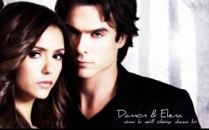 Damon & Elena Delena Wallpaper
