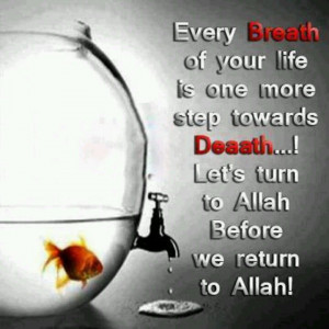 Every breath of our life.....