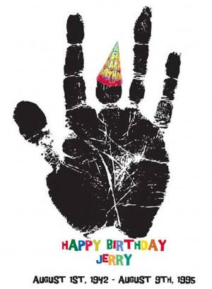 Birthday Jerry: Jerry Handprint, Happy Birthday, White Jerry, Birthday ...