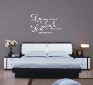 ... Quote Wall Stickers Living room Decor Art Decal sticker Quotes Sayings