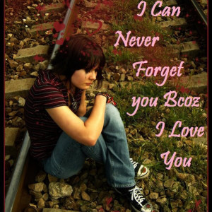 can never forget you beautiful Love quotes on image photos gallery :