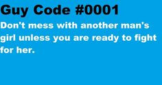 Guy Code Mtv Quotes Guy code #0001
