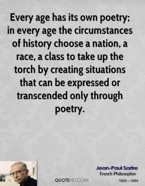Jean-Paul Sartre Poetry Quotes