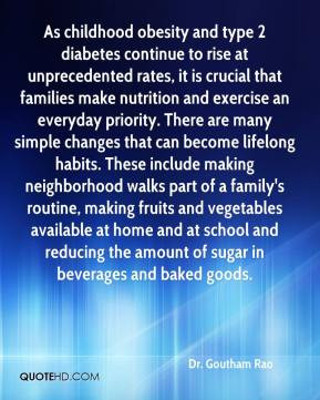 Childhood Obesity Quotes