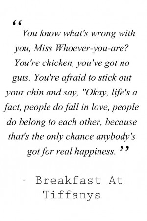 Audrey Hepburn Quotes And Sayings Breakfast at tiffanys quotes-