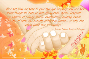 holding hands with quotes