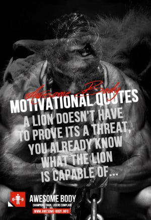Bodybuilding motivational quotes | awesome body