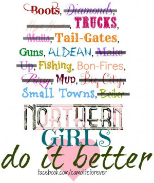 Country Girls Do It Better Quotes Northern country girls do it better ...