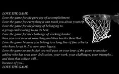 love the game - quotes for the hubby coach! More