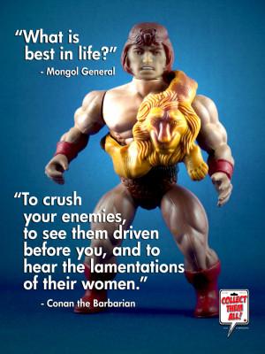 Conan The Barbarian Quotes 1982
