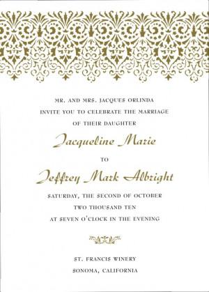 Spanish Wedding Invitations Sayings | Unique Wedding Gallery