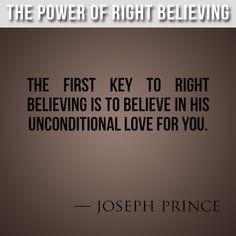 The Power of Right Believing, Joseph Prince #josephprince More