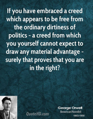 If you have embraced a creed which appears to be free from the ...