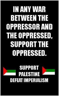 Support Palestinians More