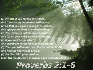 Wisdom - bible verse