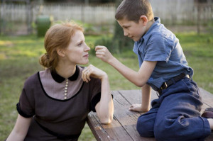 Jessica Chastain and Tye Sheridan photo from The Tree of Life ...