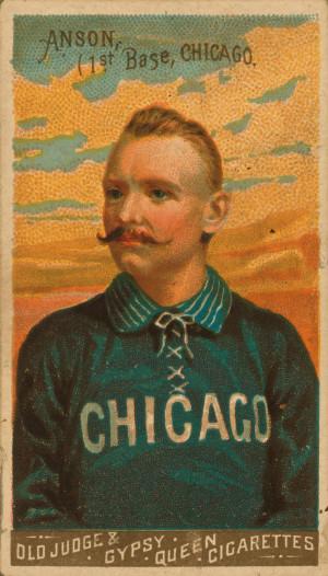 Baseball history photo: Old Judge & Gypsy Queen baseball card ...