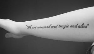 30 Impressive Short Quotes For Tattoos
