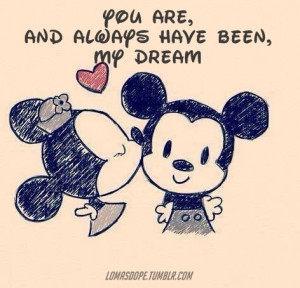 relationship couple cute quote disney quotes frase dream mickey mouse ...