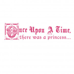 Once Upon A Time Fairy Tale Quote - Vinyl Wall Art Decal for Homes ...
