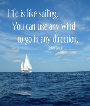 Sailing Quotes and Quotes http://www.curiositiesbydickens.com/life-is ...