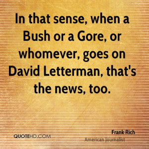 Frank Rich Quotes