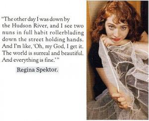 quote regina spektor text