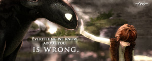 ... , how to train your dragon, motivational, movie, quote, wrong