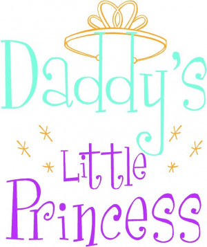 wall decal daddy s little princess