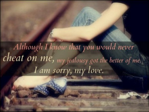 40 I'm Sorry Quotes for Him
