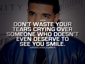 Rapper, drake, quotes, sayings, tears, cry, smile