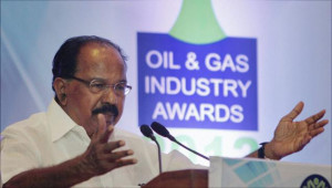 Oil Minister M. Veerappa Moily is approaching the Cabinet for grant of ...
