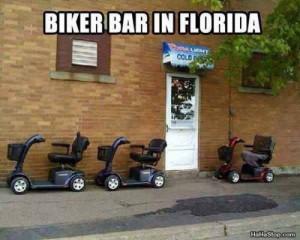 Biker bar in florida