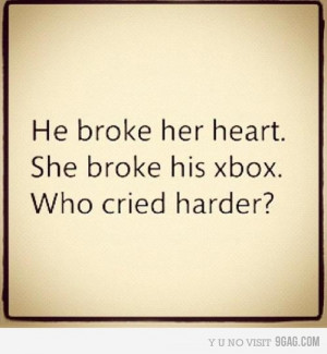 boy, broken heart, couple, funny, girl, heart, love, quote, text
