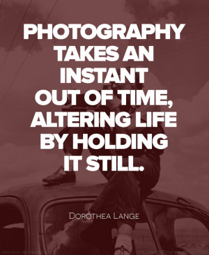 10 Quotes by Famous Photographers