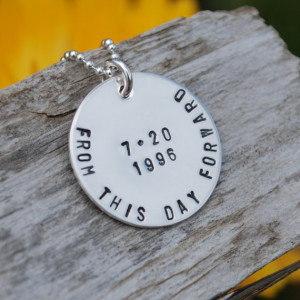Sobriety Birthday Pendent – love this