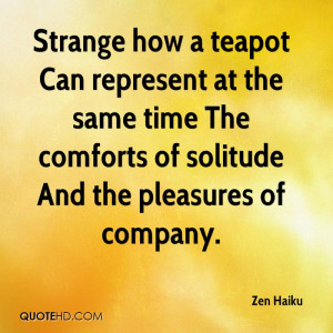 Zen Haiku Quotes