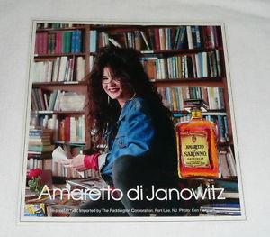 1986 Amaretto di Janowitz ad TAMA JANOWITZ 5x5 Amaretto di Saronno