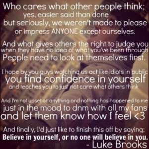 ... Quotes, Janoskians 3, Cute Quotes, Luke Quotes, Brooks Brother, Boys