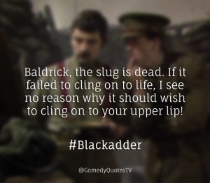 The Office / The IT Crowd / Blackadder Quotes