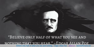 Edgar Allan Poe motivational inspirational love life quotes sayings ...